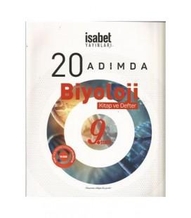 9. Sınıf 20 Adımda Biyoloji Kitap Defter - İsabet