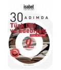 9. Sınıf 30 Adımda Türk Dili Ve Edebiyatı Kitap Defter İsabet Yayınları