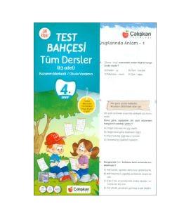 Çalışkan Yayınları 4.Sınıf Tüm Dersler Test Bahçesi