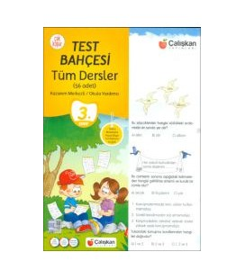 Çalışkan Yayınları 3. Sınıf Tüm Dersler Test Bahçesi
