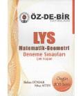 Özdebir LYS Matematik Geometri Çek Kopar Deneme Sınavları