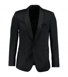 Sarar Happy 01 New 91A Night 9 Siyah Smokin Takım Elbise