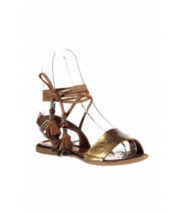 İnci Deri Bayan Sandalet