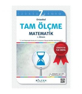7. Sınıf Matematik Tam Ölçme Bilfen Yayınları 2 Kitap  1. Dönem  2. Dönem