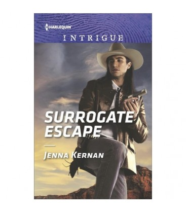 Surrogate Escape - (Harlequin Intrigue Series) by Jenna Kernan