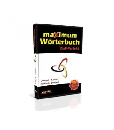 Maxımum Wörterbuch Daf Perfekt Sözlük Max Dil Verlag Für Daf Yayınları