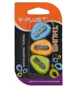 Y-Plus Thumb Kalemtıraş 3'lü Blister