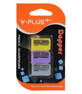 Y-Plus Dapper Kalemtıraş 3'lü Blister X08-10