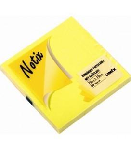 Notix Yapışkanlı Not Kağıdı Neon Sarı 80Yp 75x75mm 1 N-Ns-7575