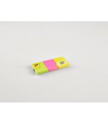 Notix Neon Yapışkanlı Not Kağıdı 3'Lu 100 Yp 50X40 - N-N-5040-3