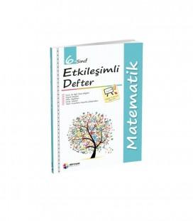 6. Sınıf Matematik Etkileşimli Defter Dörtrenk Yayınları
