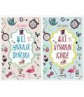 Alice Harikalar Diyarında - Alice Aynanın İçinde İki Kitap Bir Arada