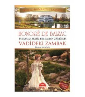 Vadideki Zambak Honore de Balzac