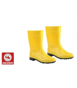 Gezer Sarı Kısa İş Çizmesi 00372