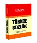 Türkçe Sözlük  Karatay Yayınları  Cep Boy