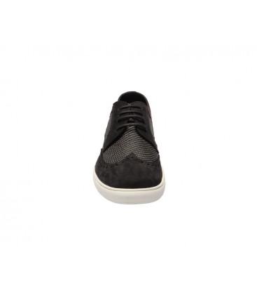 İnci Hakiki Deri Siyah Erkek Sneaker 3172