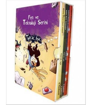 Fen ve Teknoloji Serisi Seti (4 Kitap) Yayınevi : Tudem Yayınları - Çocuk Kitapları Dizisi