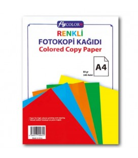 Fly Renkli Fotokopi Kağıdı 100 lü