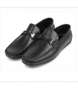 City Life Siyah Erkek Deri Loafer Ayakkabı  5179430301200
