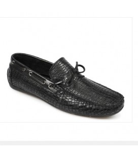 City Life Erkek Siyah Deri Loafer Ayakkabı  5179430401200