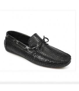 Erkek Siyah Deri Loafer Ayakkabı  5179430401200