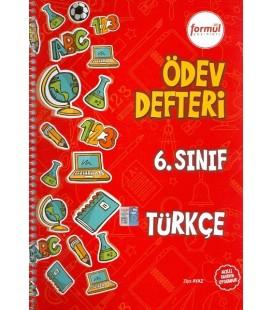 Formül 6. Sınıf Türkçe Ödev Defteri