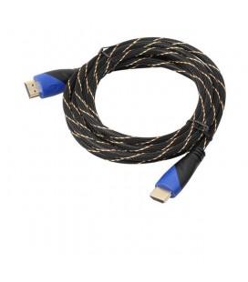 Yeni Yüksek Kalite 10 M Örgülü HDTV için HDMI Kablo V1.4 AV HD  1080