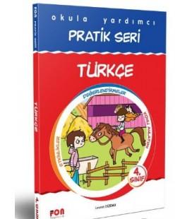4. Sınıf Okula Yardımcı Pratik Seri Türkçe