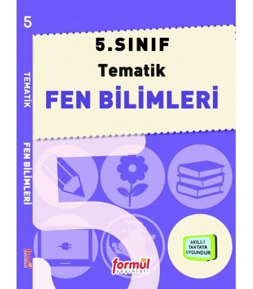 Formül Yayınları 5. Sınıf Tematik Fen Bilimleri Konu Anlatımlı