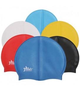 Latex Swimfit Spor Yüzücü Şapkası Havuz Bonesi
