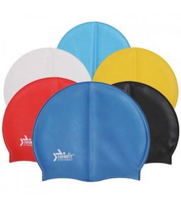 Latex Spor Yüzücü Şapkası Havuz Bonesi