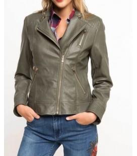 DeFacto Kadın Suni Deri Ceket H8169AZ