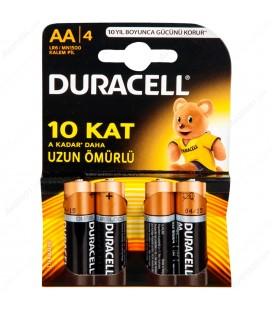 Duracell Alkalin AA Kalem Pil 4'lü Paket LR6/MN1500