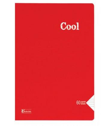 Keskin Color Cool Çizgili Defter A4 60 Yaprak PP Kapak Dikişli 321841