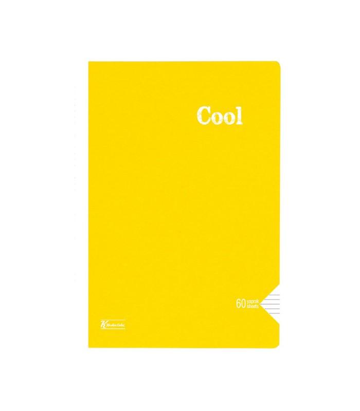 Keskin Color Cool çizgili Defter A4 60 Yaprak Pp Kapak Dikişli