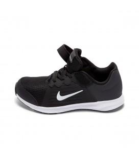 Nike Downshifter 8 (Psv) Siyah Gri Gumus Erkek Çocuk Koşu Ayakkabısı 922854-001