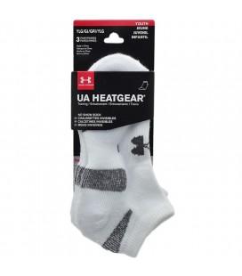 Under Armour Erkek Çocuk UA HeatGear® No Show Çorap 3'lü Paket