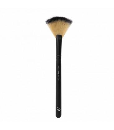 Golden Rose Fan Brush - Yelpaze Makyaj Fırçası