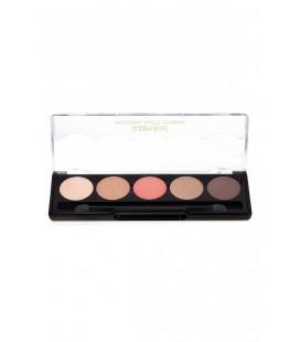 Golden Rose 5'li Göz Farı - Professional Palette Eyeshadow No: 106 Nude Pink