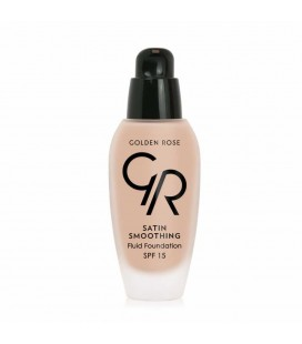 Golden Rose Satin Smoothing Fluid Foundation - Fondöten - SPF15
