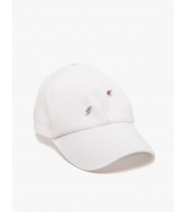 Koton Beyaz Metalik Detaylı Şapka  8YAK45024AA000