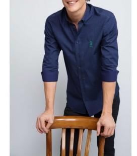 U.S.Polo Assn. Erkek Slim Fit Gömlek  G081GL004.ARMA.508173.VR033