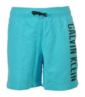Calvin Klein Short Drawstring Blue Atoll Erkek Şort