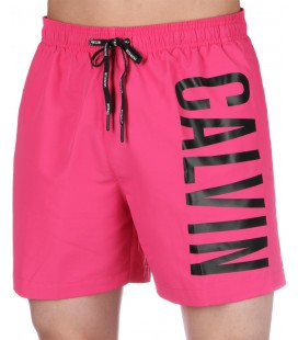 Calvin Klein Medium Drawstring Fuchsia Purple Erkek Şort