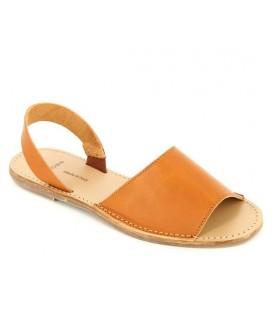 Pieces Taba Deri Sandalet 401817066541