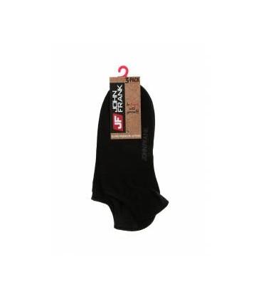 John Frank Üçlü Kısa Erkek Çorap Siyah (JF3SS18S01)