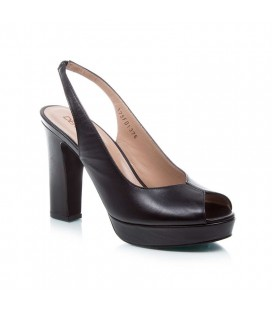 Derimod Kadın Topuklu Siyah Ayakkabı 17SFD137618