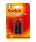 Kodak K9VHZ-1-30953437 1 adet Blister Ambalaj Çinko Karbon 9V