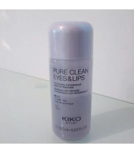 Kiko Pure Clean Eyes & Lips Göz ve Dudak Makyaj Temizleyici
