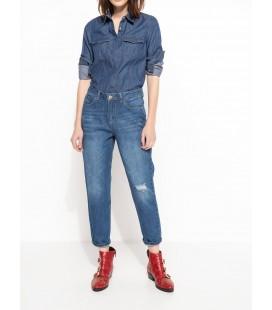 DeFacto Kadın Girlfriend Denim Pantolon I5012AZ NM34